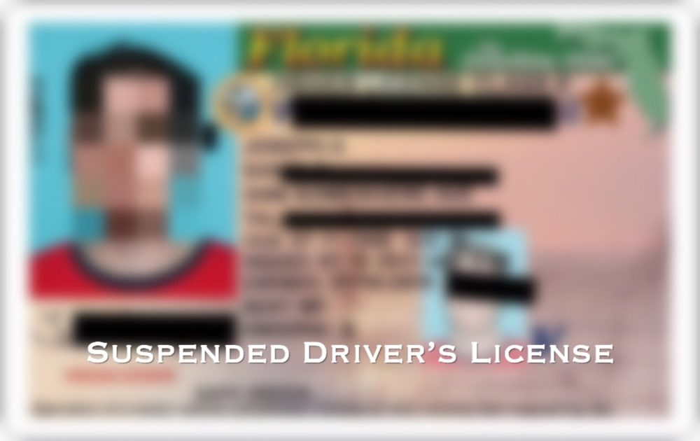 why your driver's license is suspended | eric j dirga pa
