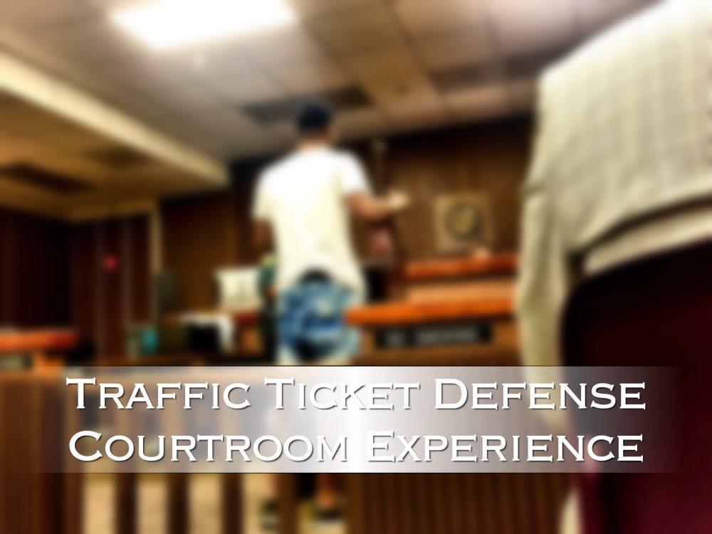red light camera ticket defense