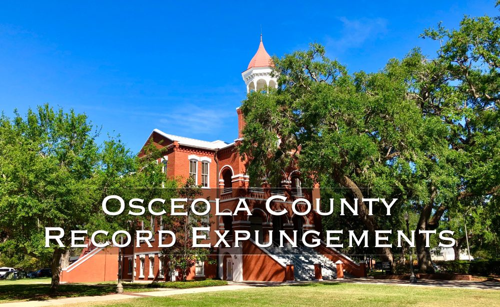 osceola county record expungement