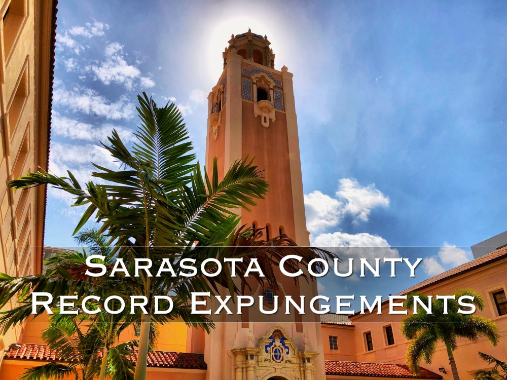sarasota county record expungements