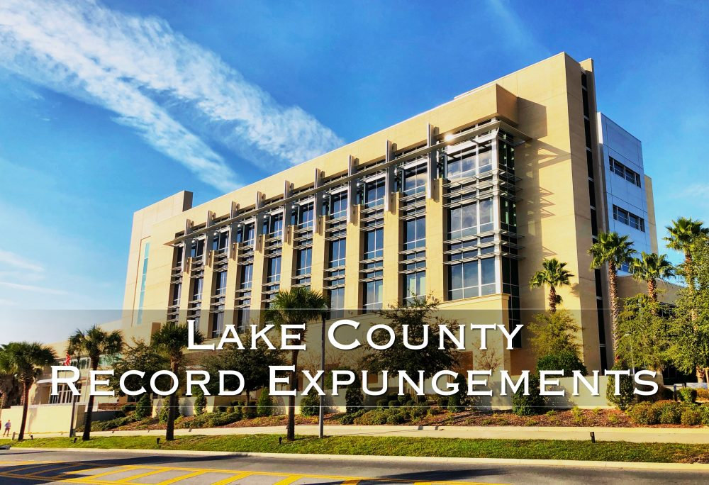 lake county record expungements