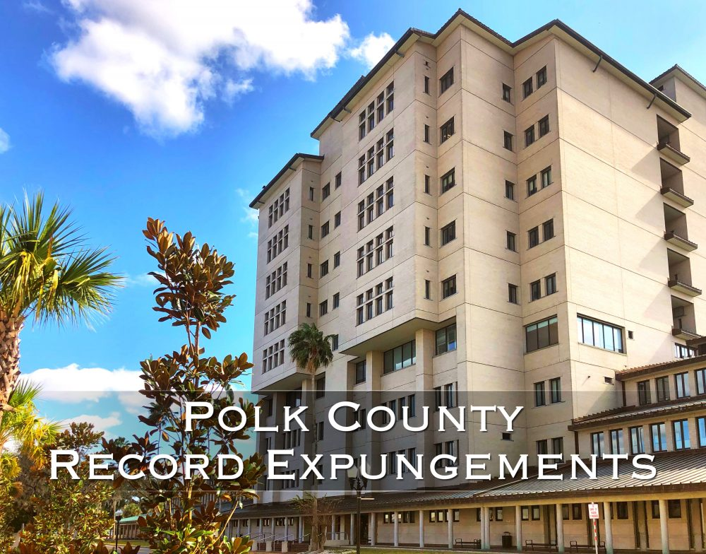 polk county record expungements