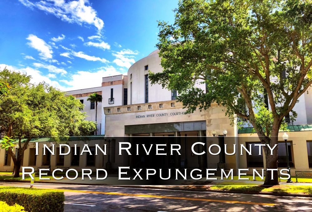 indian river county record expungements