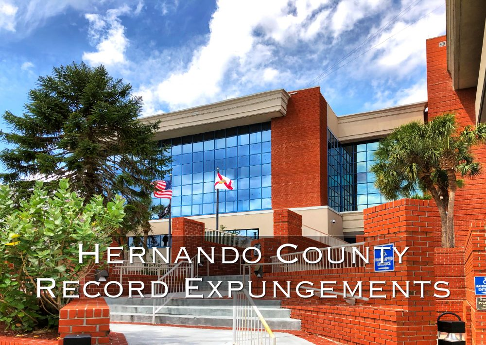 hernando county record expungements