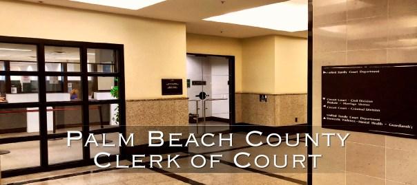 Palm Beach County Clerk of Court