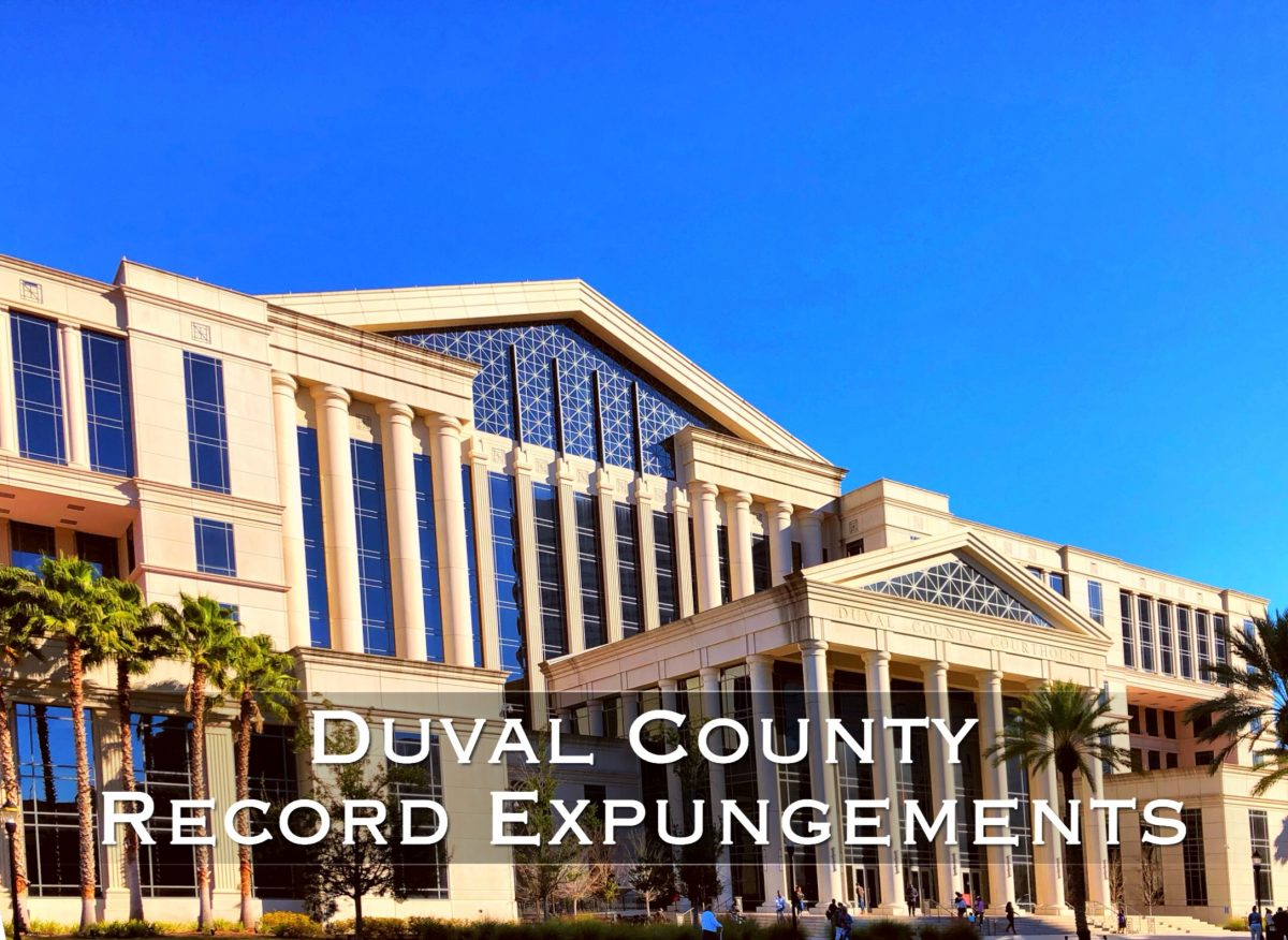 duval county record expungements