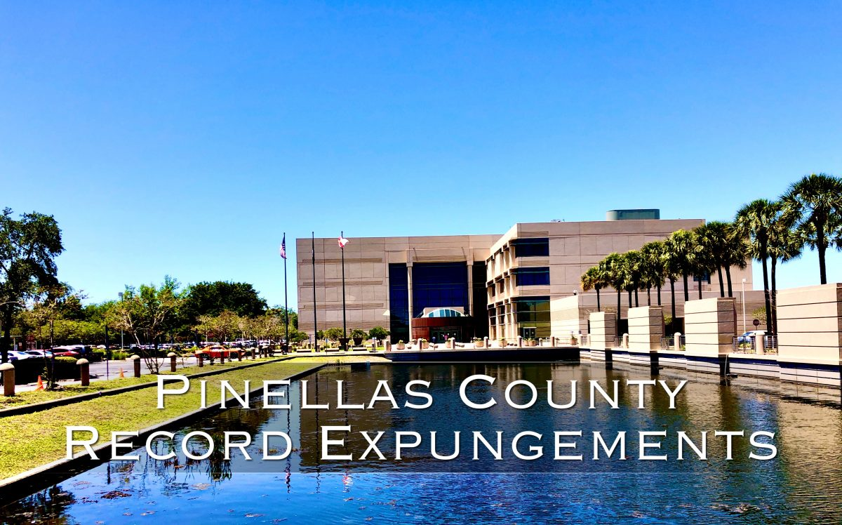 pinellas county record expungements