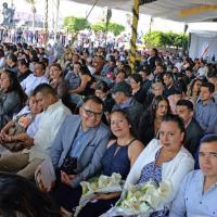 Alcalde Juan Hugo de la Rosa anuncia Bodas Colectivas Gratuitas Neza 2020