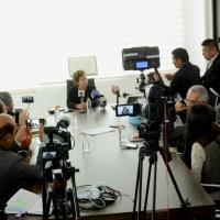 Maricela Serrano llama a no politizar el suministro de agua potable en Ayotla