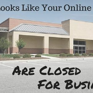 online social sites closed for buisness