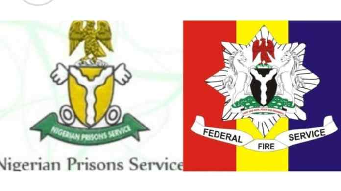 """approved the recruitment of 2,200 candidates into the Federal Fire Service and 7,475 candidates into the Nigeria Prisons Service."""""""
