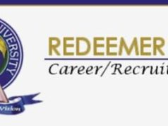 Massive Recruitment at Redeemers University