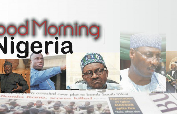 Top 10 Nigerian Newspaper Headlines For Today, Thursday, 4th February, 2021
