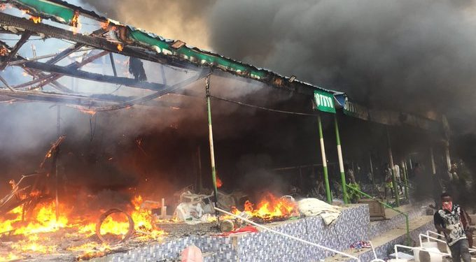 BREAKING: Policeman, motorcyclist dead as youths burn Sotitobire Miracle Church in Akure