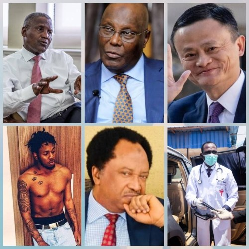 Names of 7 Person Who Have Contributed Money To Fight Against Coronavirus In Nigeria