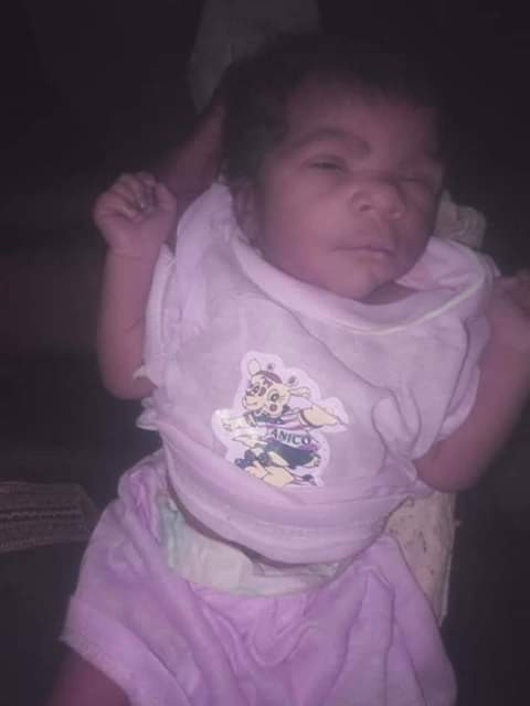 Day-old baby found dumped in Katsina with a note addressed to 'Salisu' (photos)
