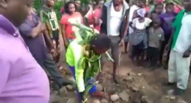 21-year-old Man allegedly poisons his twin sibling for money ritual (video).