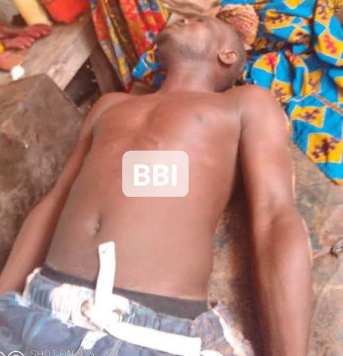 Face Of Keke NAPEP Driver Beaten To Death By Police Officers Over N100 Bribe in Otokutu, Delta
