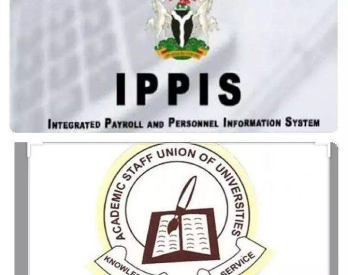 Photos of IPPIS and ASUU