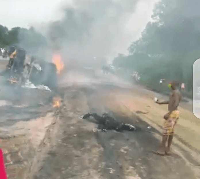 20 Burnt Beyond Recognition As Tanker Explodes In Delta State