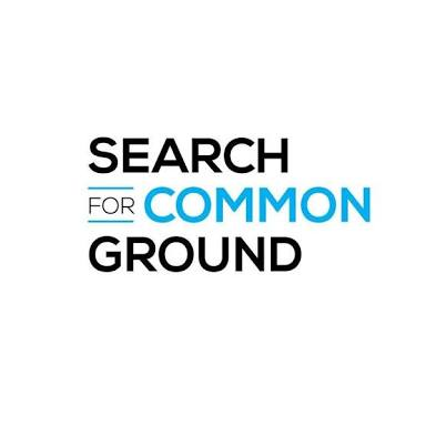 Graduate Job Opportunities at Search for Common Ground logo (SFCG) –3 States