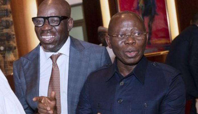 'It's a new beginning ' Oshiomhole Reacts as APC takes over Edo House of Assembly
