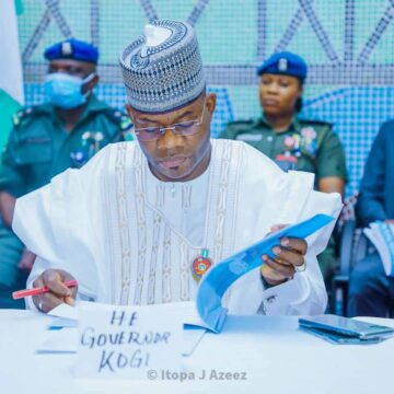 Gov. Yahaya Bello Appoints Special Advisers, others; urges Them to Be worthy Ambassadors.