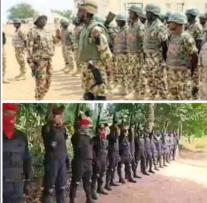 How Nigerian Army Invade IPOB Eastern Security Network's Operational Base, Kill Five, Burn Church, Others.