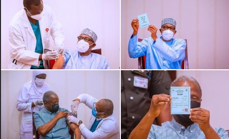 I have Proof, Buhari, Osinbajo Took Malaria Injections , Not COVID-19 Vaccine –Pastor