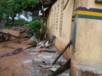 Gunmen Attack Bende Police Station In Abia, Raze Down Building (Photos, Video)