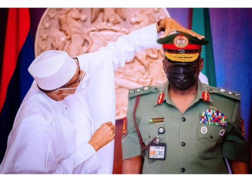 New Chief of Army Staff in Nigeria