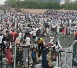 Breaking : Violence erupts at APC Mega Rally in Kano (video) Read More at : https://ejesgist.com/violence-erupts-at-apc-mega-rally-in-kano.html