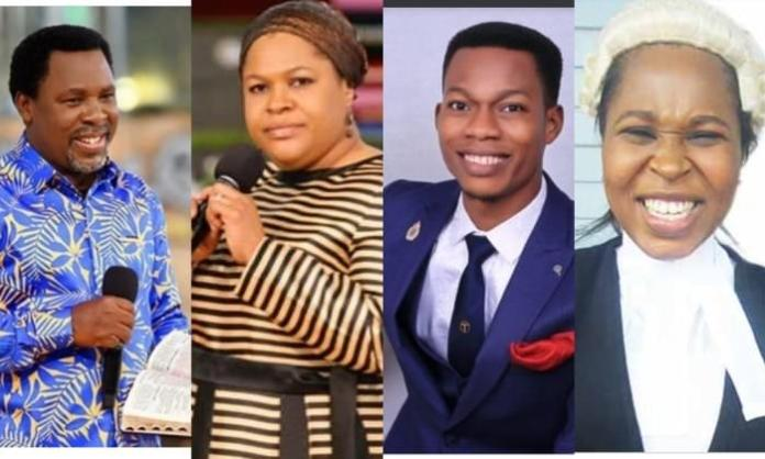 Meet TB Joshua's Wife, His Daughter Who Is A Lawyer And His Son (PHOTOS)