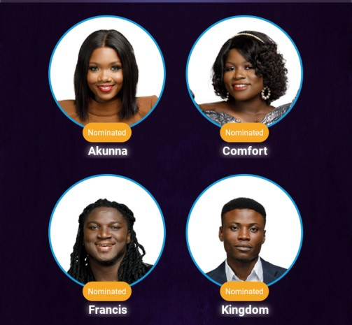 Nigerian Idol Top 4 2021: Nigerians lament as Faith exits, Comfort, others emerge top