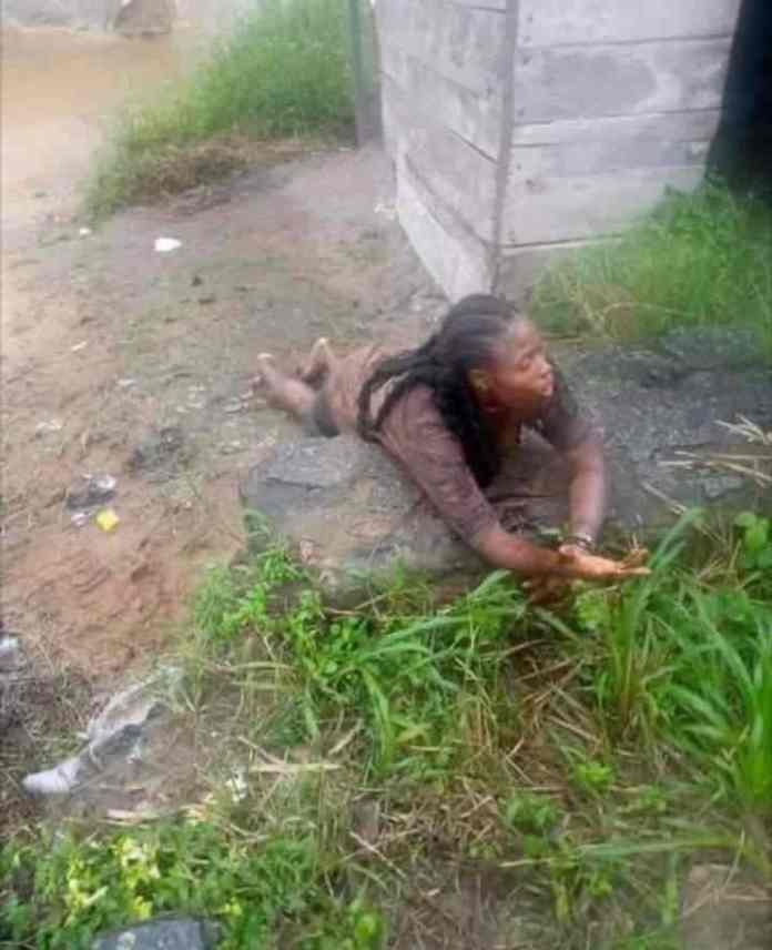 A Nigerian is apprehended while attempting to behead a female undergraduate.