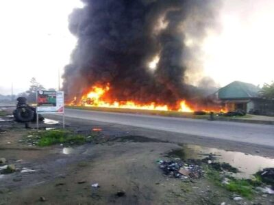 Many Dead as Explosion rocks rivers (photos)