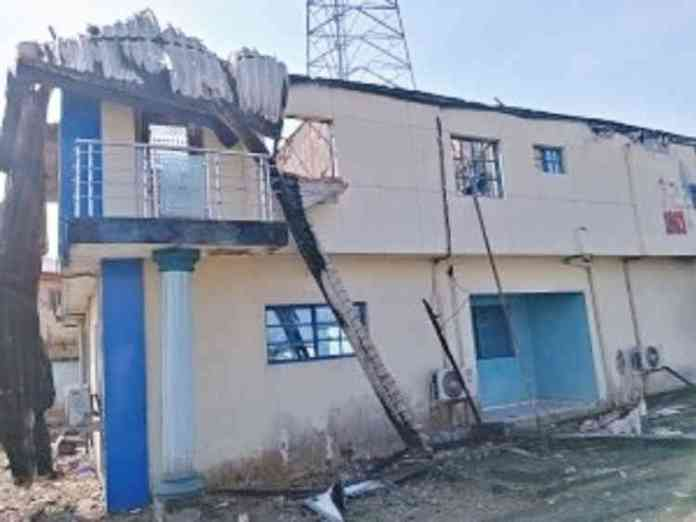 Fire Guts Popular Radio Station, Properties Worth Over ₦250m Destroyed