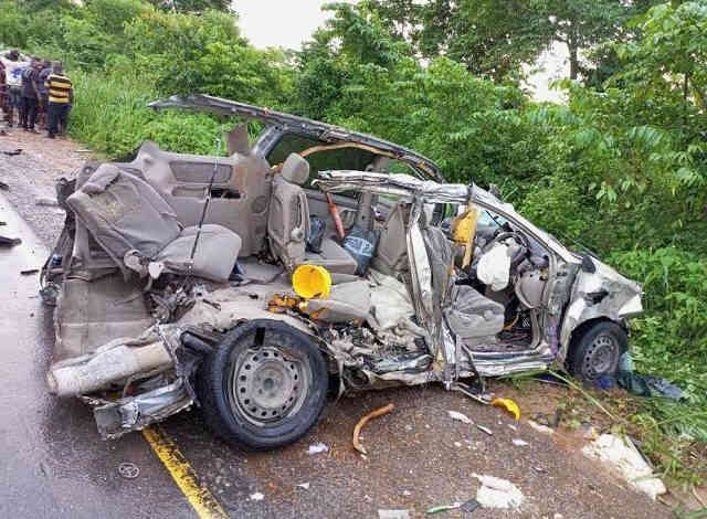 In Osun, a vehicle crushed three siblings to death.