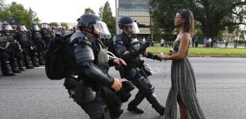 Image result for violence against police