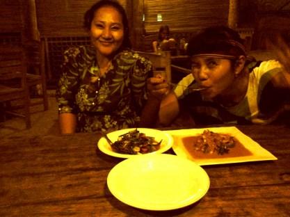 Cicip masakan Kak Shanti (doc pribadi)