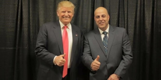 Omar Fakhoury with President Trump.