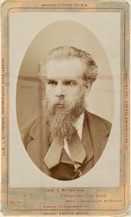 'New' Muybridge portrait at Museum of Fine Arts