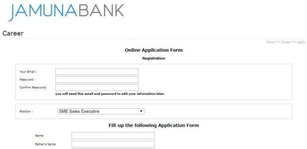 jamuna bank Online Application Method