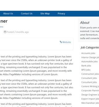 Free Job Board WordPress Theme