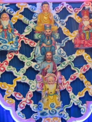 The blending of many religions