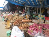 Beautiful baskets of fresh ingredients