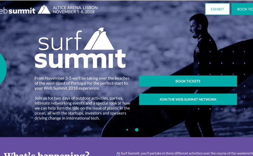 web summit紹介 surf summit & night summit