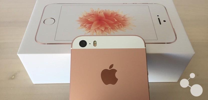 Trasera del iPhone SE