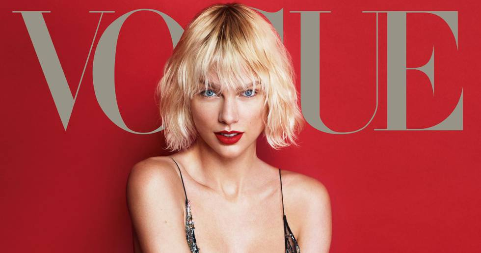 Taylor Swift en la portada de