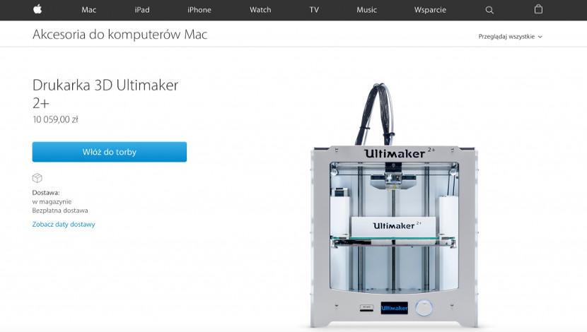 Impresoras 3D en Apple